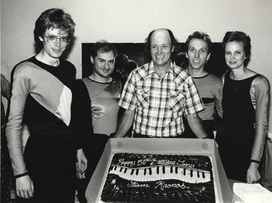 Terry Riley and Kronos in 1985