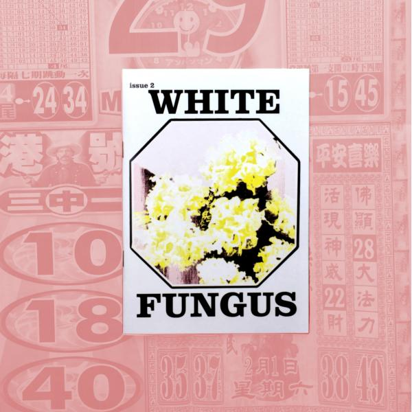 White Fungus Issue #2 cover