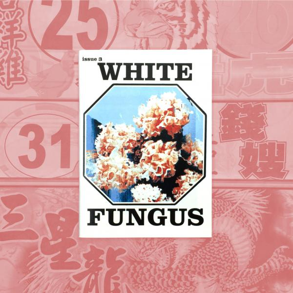 White Fungus Issue #3 cover