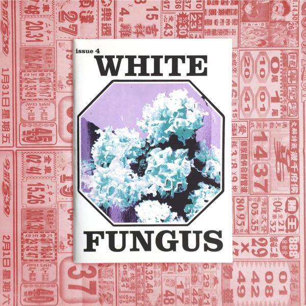 White Fungus Issue #4 cover