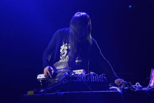 Merzbow Live at The Wall, Taipei. Photo by Vivy Hsieh