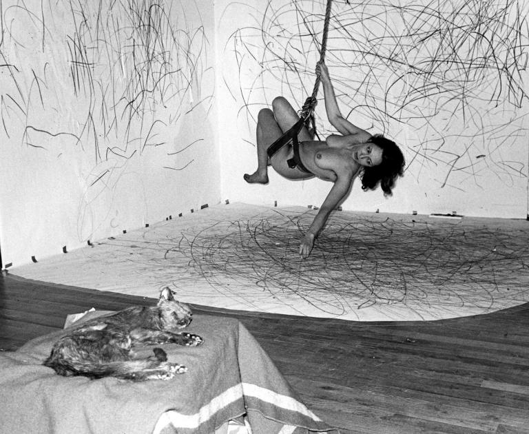 "Carolee Schneemann, ""Up To and Including Her Limits"" (1973–76)"